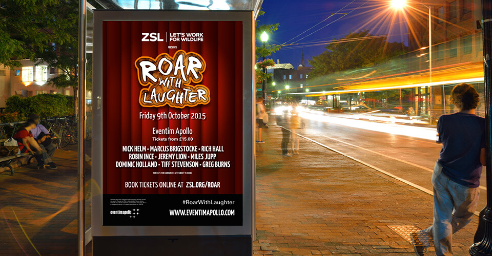Brand Design - Roar with Laughter